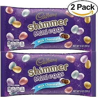 Cadbury, Easter Shimmer Milk Chocolate Mini Eggs, 9 Oz - Pack of 2
