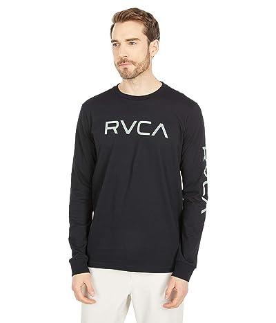 RVCA Big RVCA Long Sleeve (Black/Green) Men