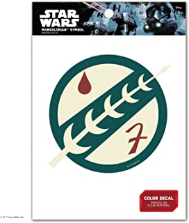Star Wars Mandalorian Insignia Window Decal Action Figure