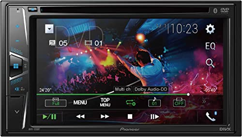 popular Pioneer AVH-120BT outlet online sale online 6.2 Inch Double Din DVD/MP3/CD Player with Touchscreen Bluetooth. sale