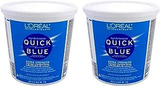 Loreal Quick Blue Powder Bleach Extra Strength 1Lb. (473ml) (2 Pack)