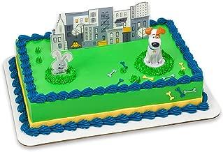 DecoPac The Secret Life of Pets Max & Snowball DecoSet Cake Topper