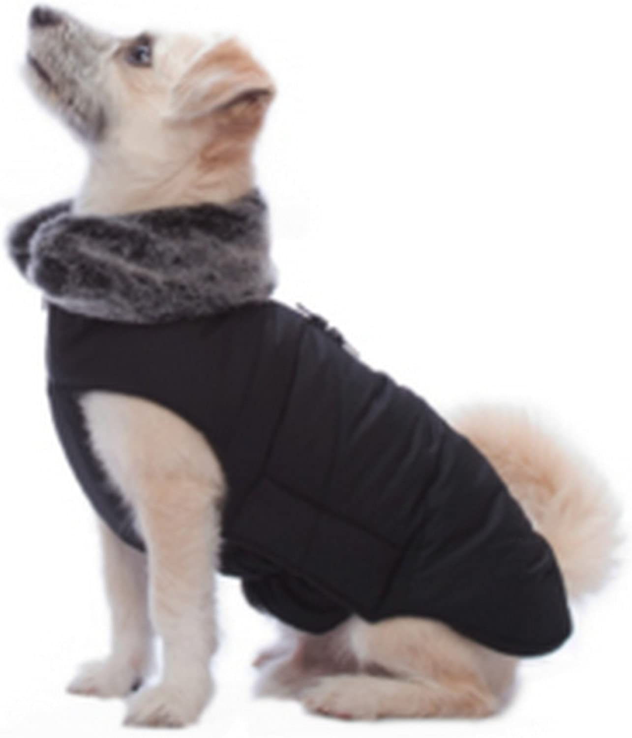 Dog Gone Smart Tamarack Dog Coat (12in) (Black)