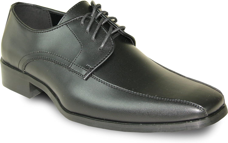 VANGELO Men Tuxedo shoes Tux-5 Square Toe for Wedding, School Uniform & Formal Event