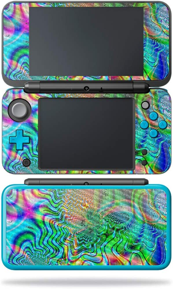 MightySkins 5% Max 60% OFF OFF Carbon Fiber Skin for Nintendo XL 2DS - New Psychede