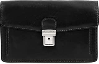 Best mens wrist bags leather Reviews