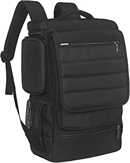 Laptop Backpack,17 Inch Multifunctional Unisex Travel Bags Knapsack,rucksack Backpack Hiking Bags Students School Shoulder Backpacks For 17.3 Inch Laptop Computer,Black