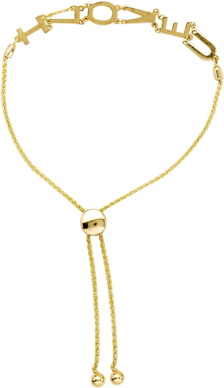 Bracelets 14K Gold Bracelet Size Wrist Brand new 9.50