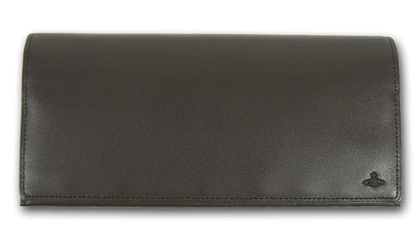 付属品とにかく光沢(ヴィヴィアンウエストウッド) Vivienne Westwood 羊革 モナク 長財布 メンズ ブラウン 茶 定価31,000円+税