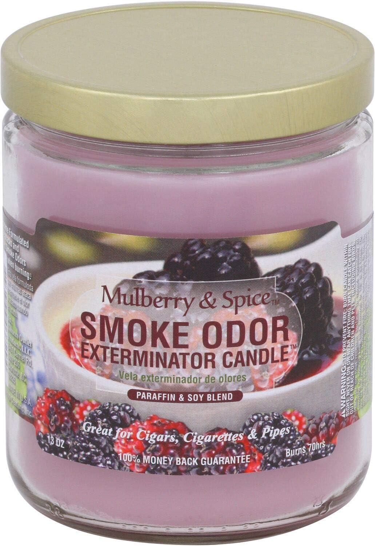 Popular overseas Smoke Odor Exterminator Mulberry And Spice Pack oz 13 Candle o Arlington Mall -