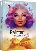 Corel Painter Essentials 6 Digital Art Suite [PC/Mac Disc] [Old Version}