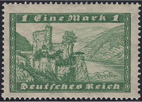 Goldhahn Deutsches Reich Nr. 364Y postfrisch  liegendes Wasserzeichen Briefmarken für Sammler