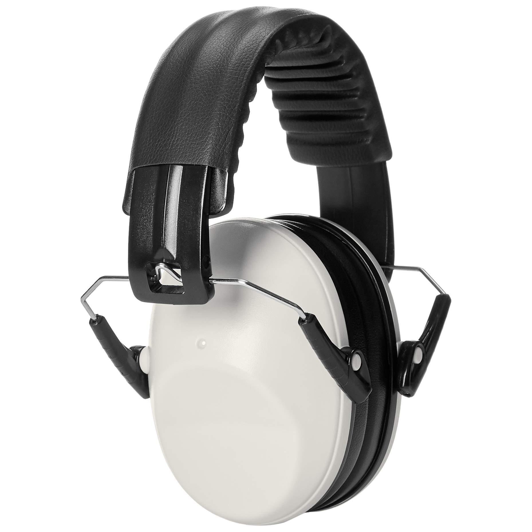 AmazonBasics Protection Safety Earmuffs White