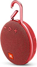 JBL Clip 3 Waterproof Wireless Bluetooth Speaker - Red - JBLCLIP3REDAM (Renewed)