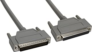 Amphenol CS-DSDHD62MF0-005 62-Pin HD62 Deluxe D-Sub Cable, Shielded, Male/Female, 5', Gray