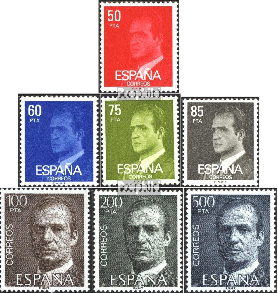 Prophila Collection España 2513y-2519y (Completa.edición.) 1981 Juan Carlos I. (Sellos para los coleccionistas): Amazon.es: Juguetes y juegos
