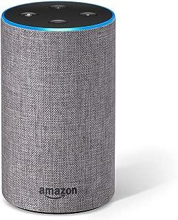 Amazon Echo (2.ª generación) - Altavoz inteligente con Alexa, tela de color gris oscuro