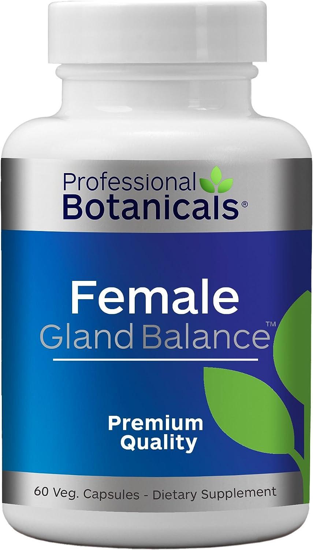 Female Gland Balance - Hormone 60 Support Capsules Vegetarian Milwaukee Mall Ranking TOP3