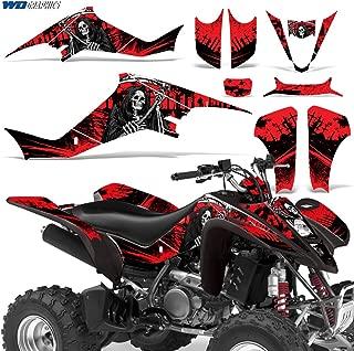 Suzuki LTZ400 2003-2008 Graphic Kit ATV Quad Decals Sticker Wrap LTZ 400 REAPER RED