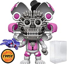 Funko Five Nights at Freddy's: Sister Location - Funtime Freddy Limited Edition Chase Pop! Vinyl Figure (Includes Compatible Pop Box Protector Case)