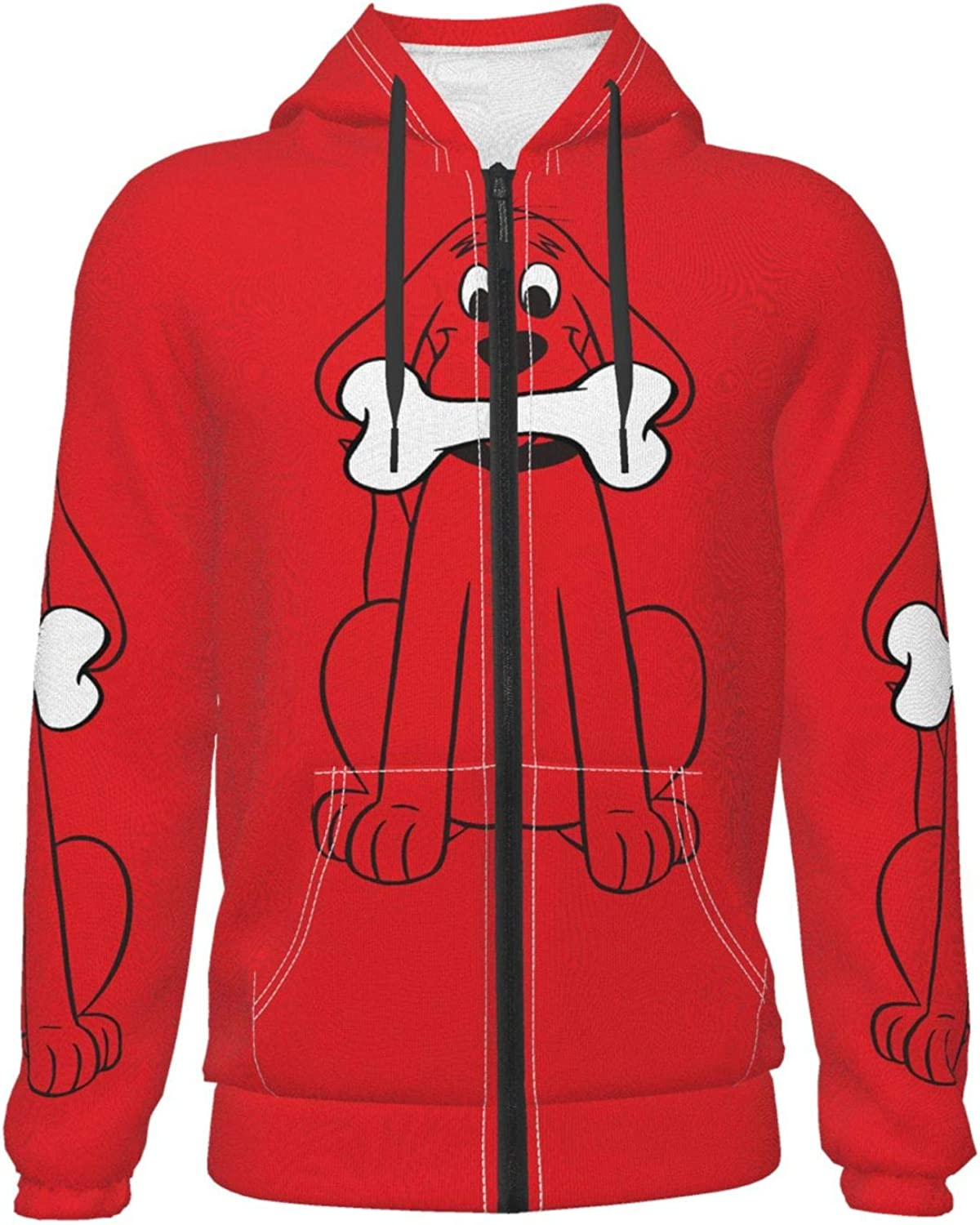 Clifford The Max 50% OFF Big Red Dog We OFFer at cheap prices Hoodie Hooded Sleeve Long Boys Girls Sw