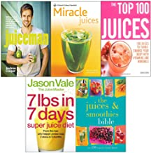 Juiceman, new pyramid miracle juices, top 100, 7lbs in 7 days super diet, smoothies bible 5 books collection set