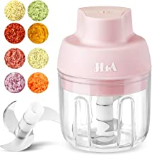 Sponsored Ad - Portable Mini Food Processor Chopper, Small Food Processor for Garlic Veggie,Dicing, Mincing & Puree, Fruit...