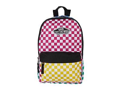 Vans Bounds Backpack (Checker Block) Backpack Bags