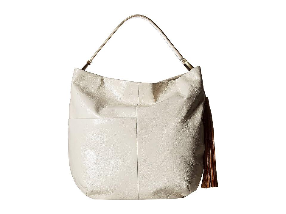 Hobo Meridian (Magnolia) Handbags, Bone