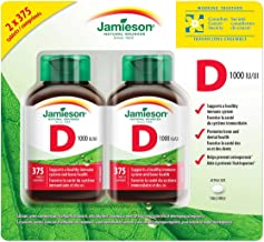 Jamieson Vitamin D3 1000Iu Tablets-(2X375), 750 Count