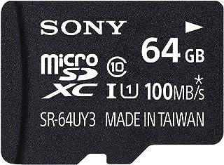 ソニー microSDXC 64GB Class10 UHS-I対応 SDカードアダプタ付属 SR-64UY3A [国内正規品]