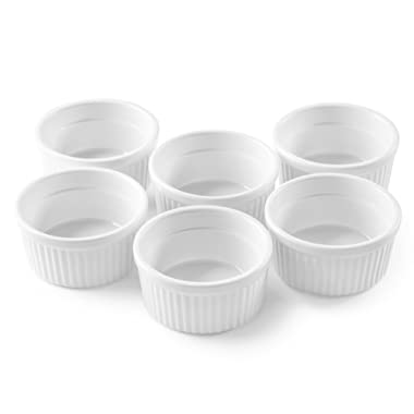 Bellemain Porcelain Ramekins, set of 6 (4 oz.)