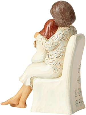 Enesco 6001558 Woman Sitting with Child, Multicolor