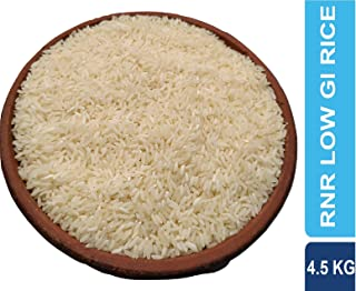 THINK3 RNR 15048 Telangana Sona Rice with Low glycemic Index Sugar Free Rice for Diabetic Control 4.5 KG