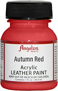 Angelus Leather Paint 4 Oz Autumn Red