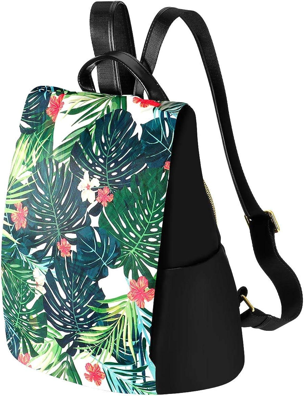 Kamo Women Floral Backpack Waterproof Nylon MultiPocket Schoolbags AntiTheft Daypack Girls Casual Travel Rucksack
