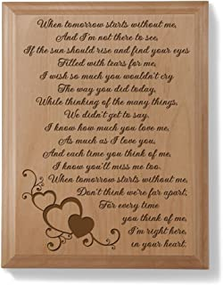 personalised memorial plaques