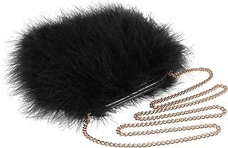 Best black fluffy clutch bag Reviews