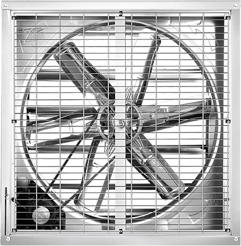 XYSQ Ventilador Industrial De Servicio Pesado, Extractor Axial Comercial 220V, Extractor De Aire Comercial Axial, Ventilador De Escape De Alta Potencia De Metal Industrial, para Taller, Tienda