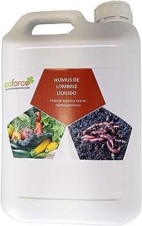 CULTIVERS Humus Líquido de Lombriz Ecológico de 5 l.