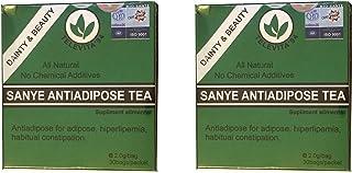 2 xSanye - té anti ADIPOSO; ( SANYE ANTI - ADIPOSE TEA ) Desintoxicante, laxante, rápida pérdida de peso - 60 bolsas