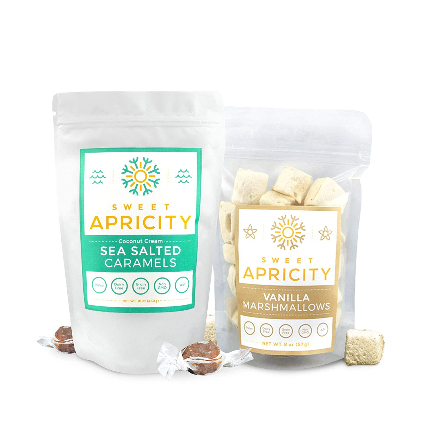 Sea Salted Caramel outlet Vanilla Marshmallows Spring new work one after another Combo Healthy Sw Pack