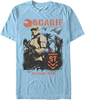 Star Wars Men's Rogue One Shore Lines T-Shirt