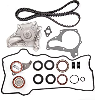 OCPTY Timing Belt Kit Including Timing Belt Water Pump with Gasket tensioner Bearing etc, Compatible for 1987 1988 1989 1999 2000 2001 Toyota Camry/1996 1997 1998 1999 2000 Toyota RAV4