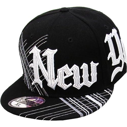 88a5c8ef049 KBETHOS Authentic NEW YORK CITY Borough Fitted Baseball Cap Hat