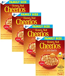 Honey Nut Cheerios Cereal, 21.6 Ounce (Pack of 4)
