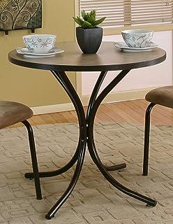 طاولة طعام من الكتان من سانسيت تريدينج، بني مع جزء علوي بيج