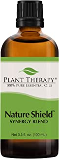 Plant Therapy Nature Shield Essential Oil Synergy | Natural Insect Repellent Blend | 100% Pure, Undiluted, Natural Aromatherapy, Therapeutic Grade | 100 milliliter (3.3 ounce)