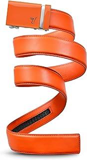Sponsored Ad - Mission Belt Men`s Leather Ratchet Belt, 40mm Solid Collection