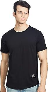 Calvin Klein Jeans Men's Badge Turn Up Sleeve T-Shirt
